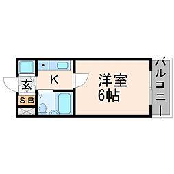 ピュア住江[2階]の間取り