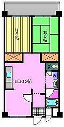 第87杉フラット[502 号室号室]の間取り