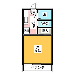 MTコーポII[2階]の間取り