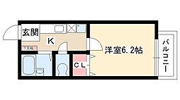 いづみコーポ[103号室]の間取り