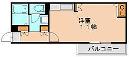 マーキス箱崎[2階]の間取り