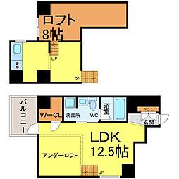 GKレジデンス[4階]の間取り
