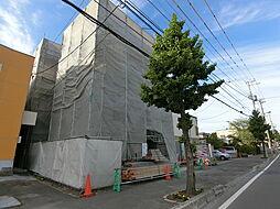 北海道札幌市厚別区厚別西三条2丁目の賃貸マンションの外観