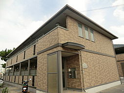 ルピナスA棟[2階]の外観