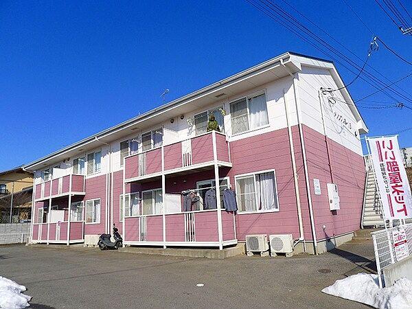 メゾンプレミールB 2階の賃貸【群馬県 / 太田市】