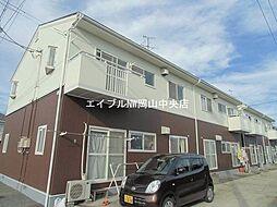 岡山県岡山市南区藤田丁目なしの賃貸アパートの外観
