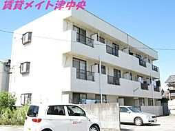 三重県津市幸町の賃貸マンションの外観