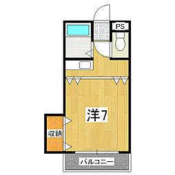 あめにてぃー[3階]の間取り