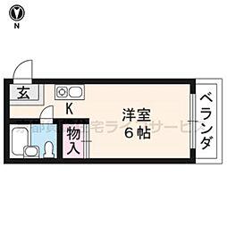 藤原マンション[305号室]の間取り