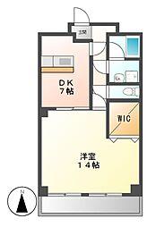 第一戸嶋屋ビル[4階]の間取り
