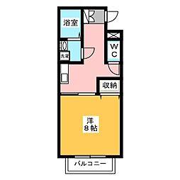 和雅家 壱番館[1階]の間取り