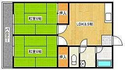 第5上野ビル[3階]の間取り