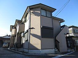 千葉県四街道市四街道の賃貸アパートの外観