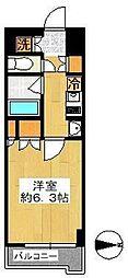 ルーブル羽田萩中 bt[103kk号室]の間取り