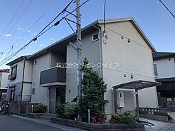 大阪府高槻市千代田町の賃貸アパートの外観