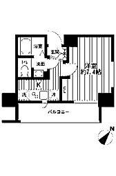 ザ・パーククロス町田[11階]の間取り