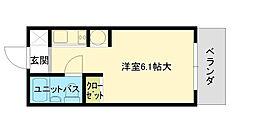 エステートピアニシケン[2階]の間取り