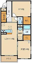 (仮称)八尾市シャーメゾン宮町1丁目計画[203号室]の間取り