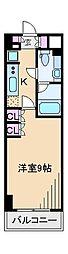 王子神谷パークサイドハイツ[5階]の間取り