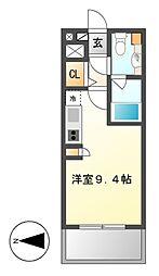 グラン・アベニュー西大須[10階]の間取り
