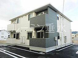 兵庫県洲本市金屋の賃貸アパートの外観