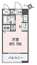 ネオマイム横浜台町[5階]の間取り