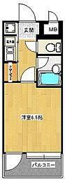 ピュアドーム大濠アクレーム[9階]の間取り