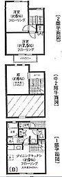 [テラスハウス] 東京都渋谷区富ヶ谷2丁目 の賃貸【/】の間取り