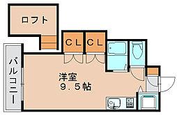 シャトー98[4階]の間取り