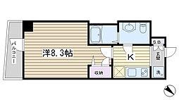 GENOVIA田端II green veil[2階]の間取り
