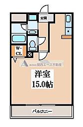 ブランチ613[2階]の間取り