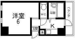 清洲プラザ高井田[503号室号室]の間取り