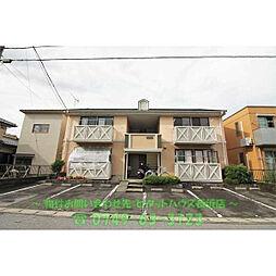 滋賀県長浜市朝日町の賃貸アパートの外観