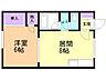 間取り,1DK,面積32.86m2,賃料3.0万円,バス 函館バス北大裏下車 徒歩5分,,北海道函館市港町3丁目11-20