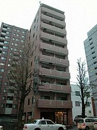 北海道札幌市北区北七条西6丁目の賃貸マンションの外観