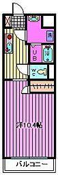 ピーノ・パラッツォ16[503号室]の間取り