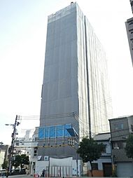 プレサンス四天王寺[13階]の外観