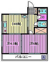 第三静和荘[1階]の間取り