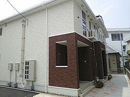 愛媛県松山市小栗3丁目の賃貸アパートの外観