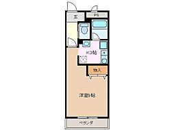 未来ビル[3階]の間取り