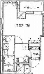 (仮称)上池袋1丁目マンション 5階1Kの間取り