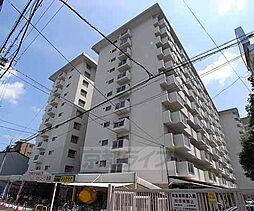 京都府京都市上京区一色町の賃貸マンションの外観
