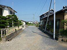 現地接道(2015年9月)撮影