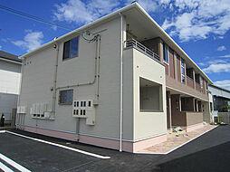 滋賀県近江八幡市馬淵町の賃貸アパートの外観