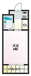 BFレジデンス小阪[10階]の間取り