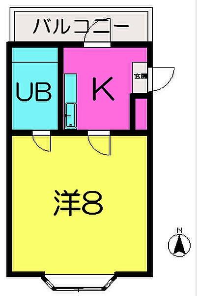 イーストバレー[3階]の外観