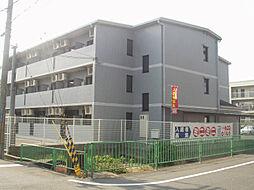 大阪府茨木市見付山1丁目の賃貸マンションの外観