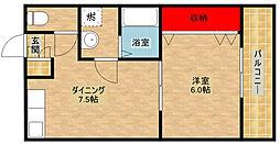 トイズコート[5階]の間取り