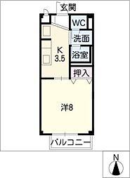 レスパス・ド・ルポ2,3[2階]の間取り