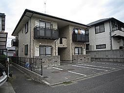 愛媛県松山市樽味2丁目の賃貸アパートの外観